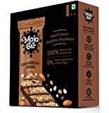 Mojo Bar Snack Bar, Choco Almond and Protein, 192g, (Pack of 6)