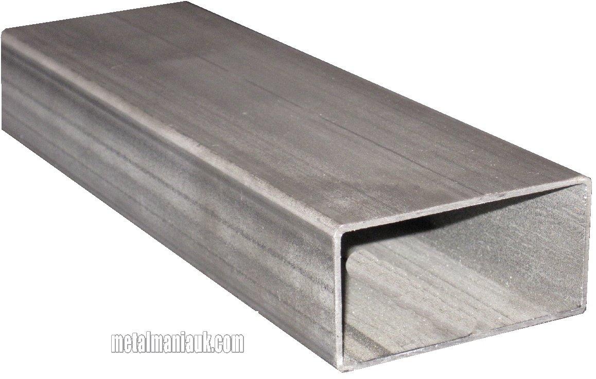 Rectangular ERW hollow section steel 30mm x 15mm x 1.5 mm x 500mm Mild Steel