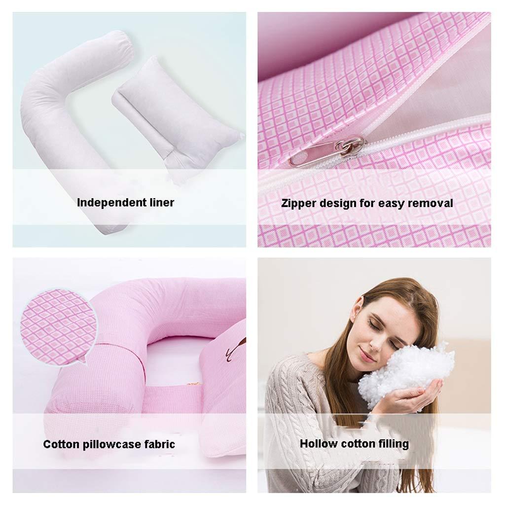 Almohada THBEIBEI Lactancia de Fibra de algodón Maternidad ...