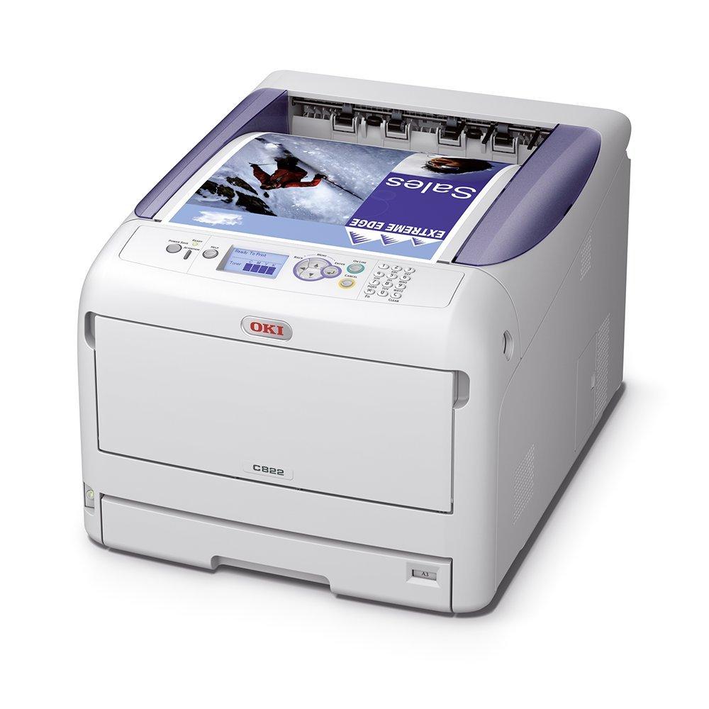 OKI C822dn A3-Farblaserdrucker Duplex, Netzwerk