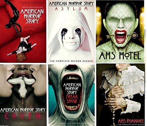 American Horror Story: Complete Series All Season 1-6 DVD Set 1 2 3 4 5 (Series Iii Dvd)