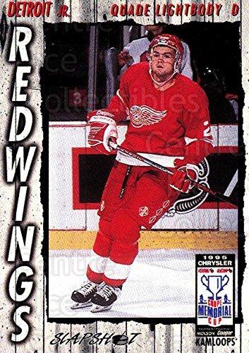 - (CI) Quade Lightbody Hockey Card 1995-96 Slapshot Memorial Cup 77 Quade Lightbody