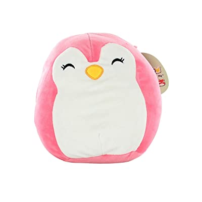 "Squishmallow Kellytoy 9"" Pink Penguin Super Soft Plush Toy Pillow Pet: Toys & Games"