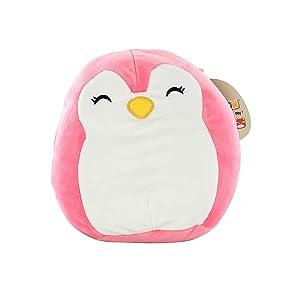 "Kellytoy Squishmallow 9"" Pink Penguin Super Soft Plush Toy Pillow Pet"