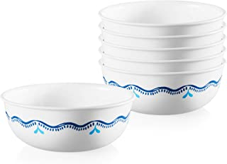 product image for Corelle Chip Resistant Soup and Cereal Bowls, 6-Piece, Lisbon Terrace