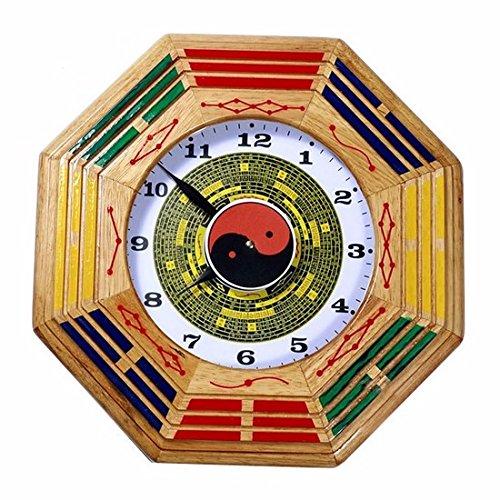 LQXZM-Tai Chi gossip clock, wall clock, clock, clock, wall clock, Lucky evil spirits ornaments, watches and clocks,A