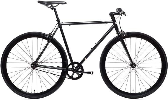 Wulf Matte Black Core-Line State Bicycle | Fixie Single Sped Fixed Gear Bike - Wulf (Matte Black) Small (50 cm)