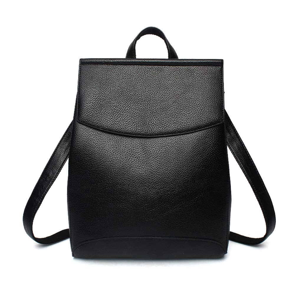 b9a7464d9583 Amazon.com  Nevenka Women Bag Backpack PU Leather Student Zipper Bags  Casual Backpacks For Women 685 (Black-2)  Shoes