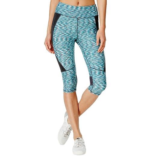 3a183c8f3eb2b Amazon.com: Calvin Klein Womens Space-Dyed Capri Leggings Size ...