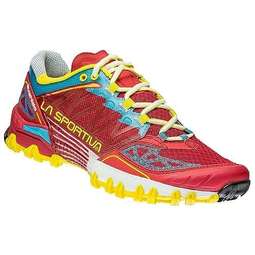 La Sportiva Bushido Woman Berry, Zapatillas de Trail Running para Mujer: Amazon.es: Zapatos y complementos