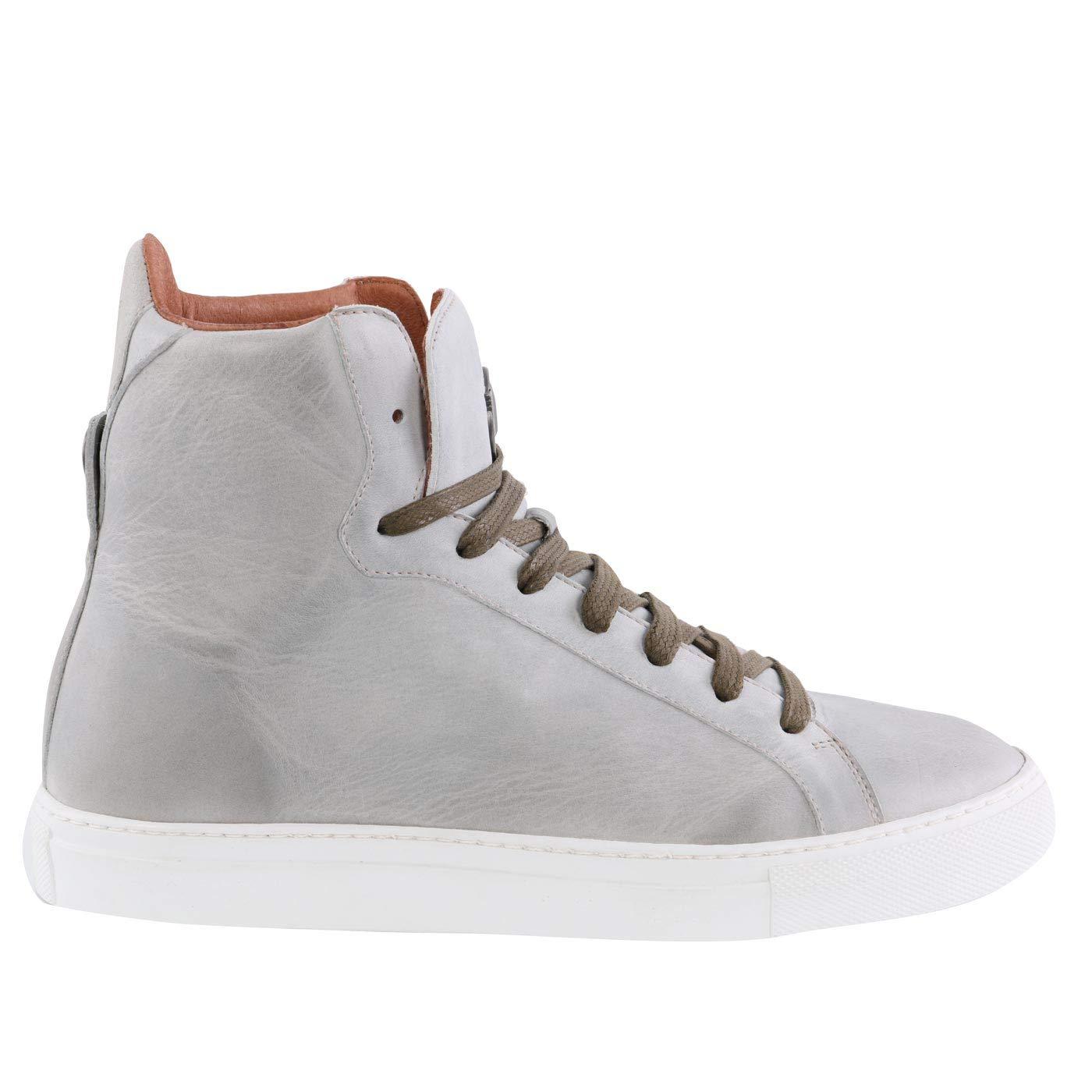 Matchless Damen Leder Turnschuhe Schuhe Lewis HIGH Antique Mud 142051