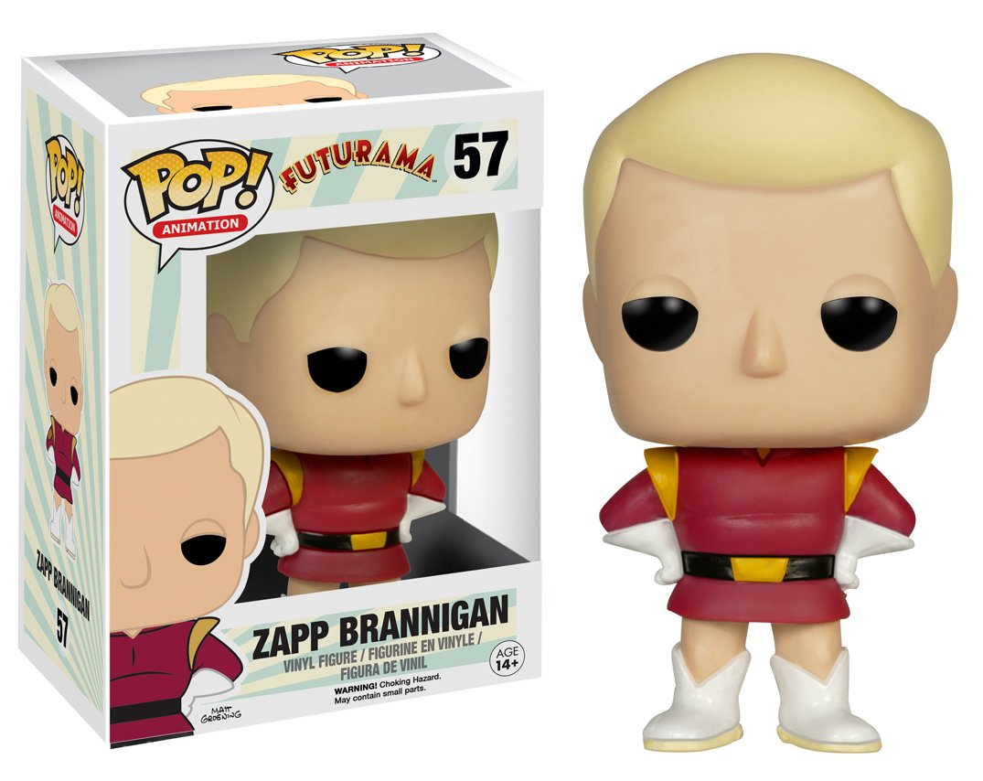 Funko POP TV: Futurama - Zapp Brannigan Action Figure