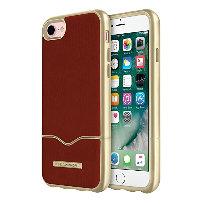 6b59cffd4 Image Unavailable. Image not available for. Color: Rebecca Minkoff Inlay  Slider iPhone 7 Case ...