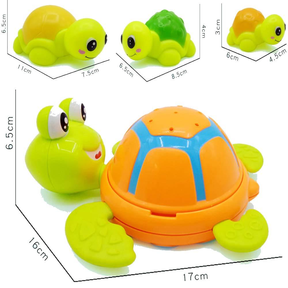 01-Turtle Frealm Bath Toy Baby Bathtub Shower Toys Toddler Sprinkler Bathing Toy Onground Swimming Turtle Bathtime Toy