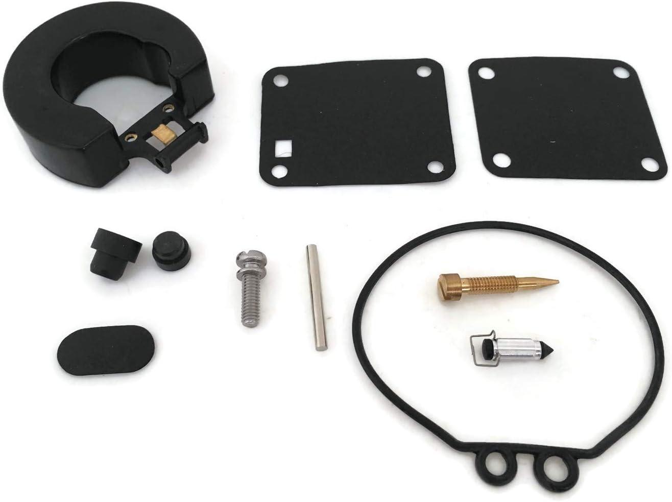 Boat motor 6G1-W0093-00 369-87122-1 11502M 18-7765 Carburetor Repair Kit for Yamaha 3HP 6HP 8HP / Tohatsu Nissan 2-Stroke 9.8HP 8HP 5HP 4HP Outboard Motors