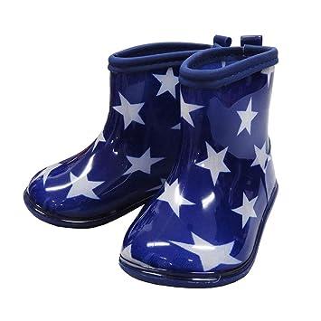 9f7002630a6da 子供用長靴 キッズ レインシューズ レインブーツ 長靴 男の子長靴 KidsForet キッズフォーレ - 星