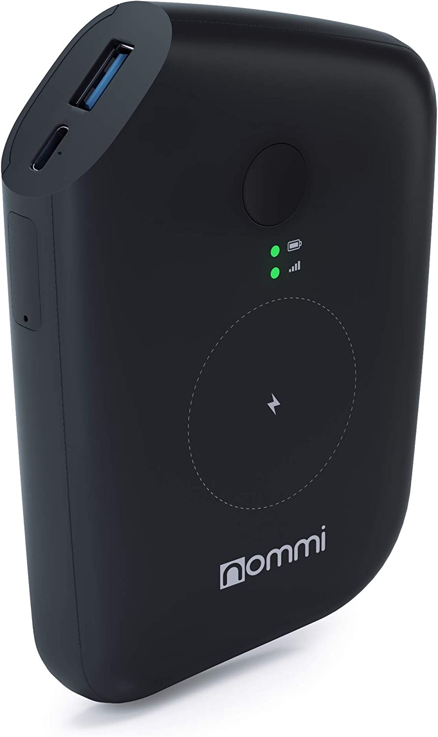 Nommi: Mobile Hotspot | Secured 4G LTE Unlocked Wi-Fi Hotspot Device | Pay as You Go Portable MiFi Hotspot | 10GB US Data + VPN | Wi-Fi Extender | eSIM/SIM in 150 Countries | 10000 mAh Power Bank