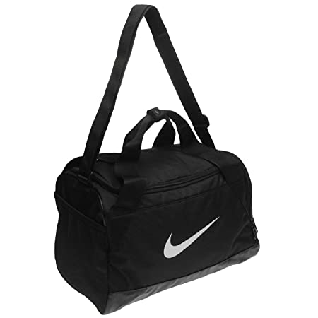 de383107a20d Nike Brasilia Bags Holdalls Shoebag Backpack Sports Bag Kitbag Gymbag  H 25.5 x W 40.5 x D 23 (cm) Extra Small - Black White  Amazon.co.uk  Luggage