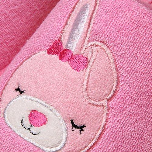Euro Sky Black Cat Antislip Waterproof Indoor Slippers Huishoud Schoenen Roze