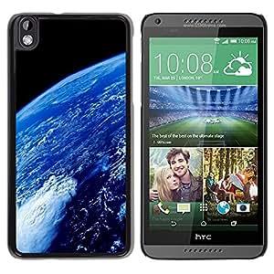 TopCaseStore / la caja del caucho duro de la cubierta de protección de la piel - Space Planet Galaxy Stars 69 - HTC DESIRE 816