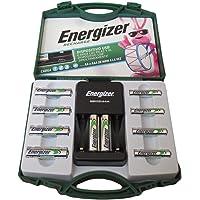 Energizer Recarga, 6 pilas AA y 4 pilas AA recargables con 1 cargador