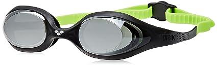 8e18b07609086 arena Kinder Unisex Wettkampf Schwimmbrille Spider Junior Mirror  (Verspiegelt, UV-Schutz, Anti