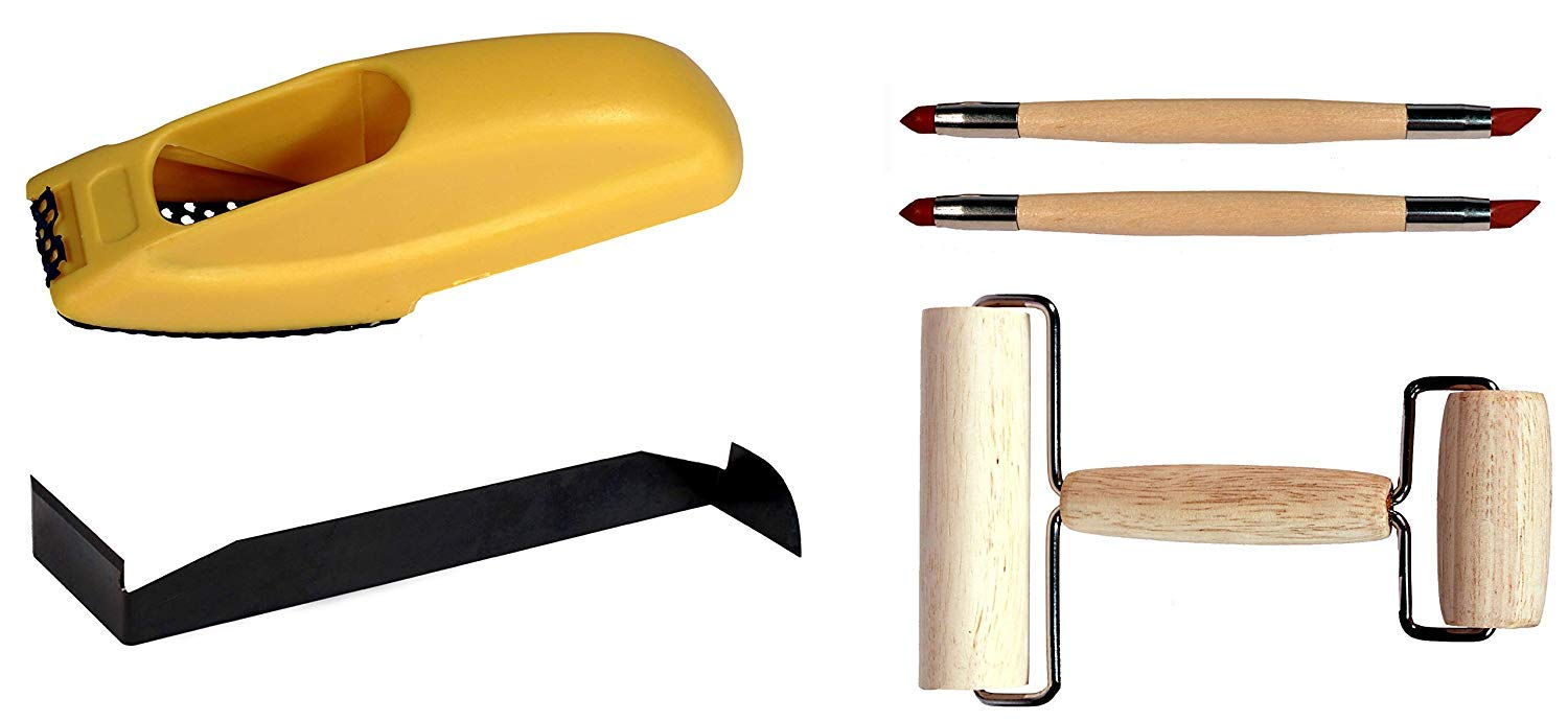 Foam Creative Hobbies Essential 5 Piece Starter Tool Kit for Pottery Clay Artists Tools Sculpture