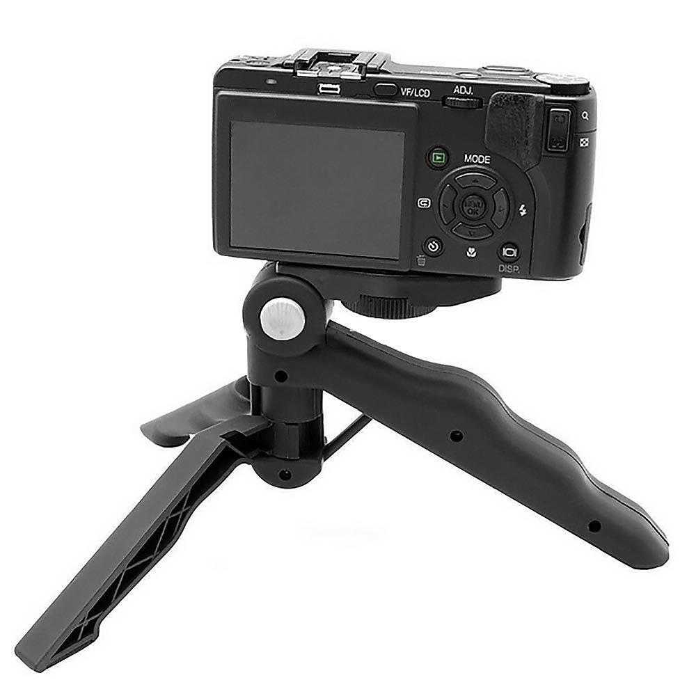 Noir Kingken 1/PC Mini support de fixation pour tr/épied retardateur Rack pour t/él/éphone portable et appareil photo