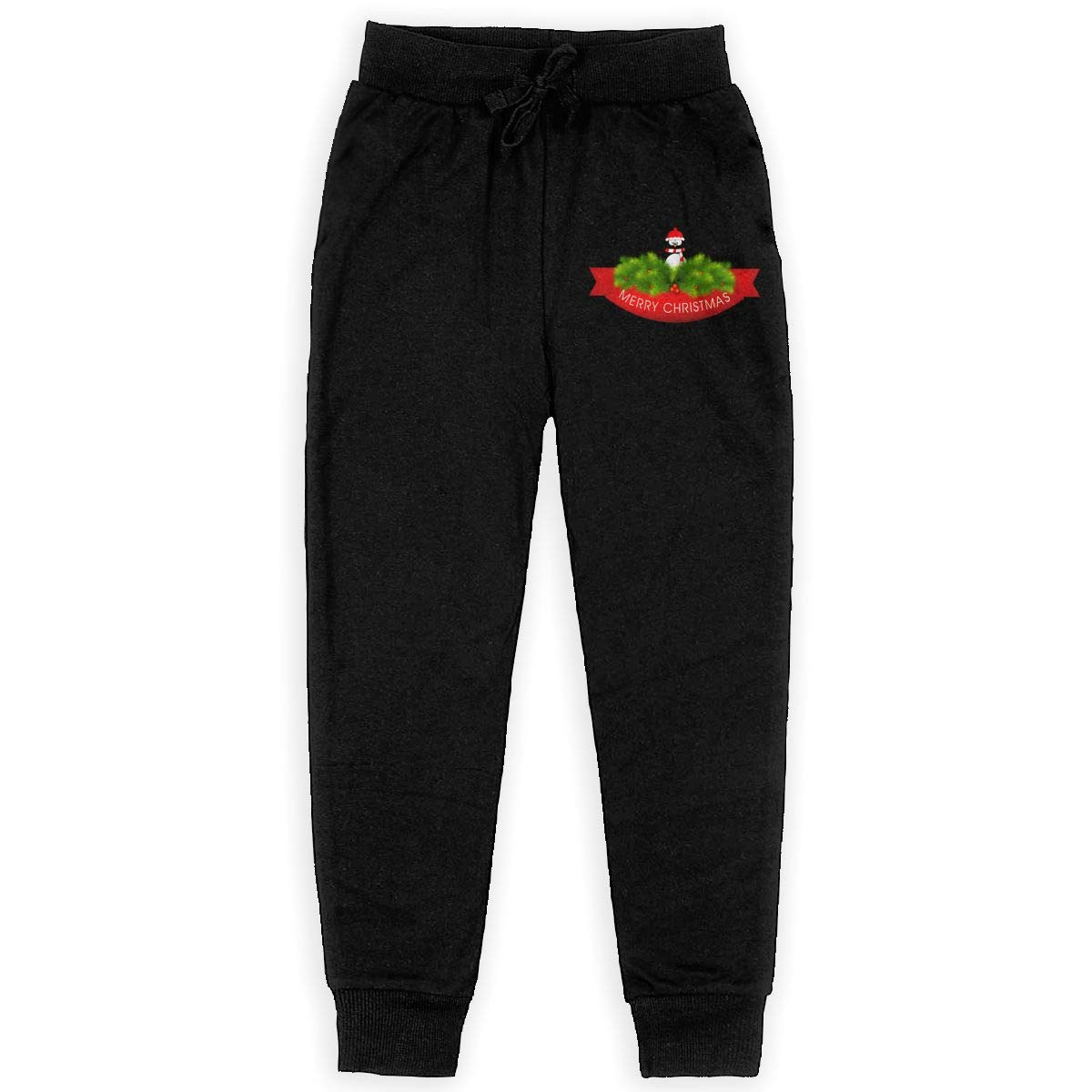 IufnNRJndfu Christmas Penguin Boys Athletic Smart Fleece Pant Youth Soft and Cozy Sweatpants