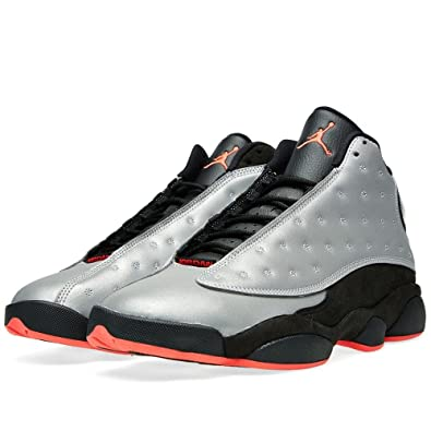 Free Shipping 6070 OFF Men Jordan 13 Retro Premium 3M Reflective Silver Black Infrared 23