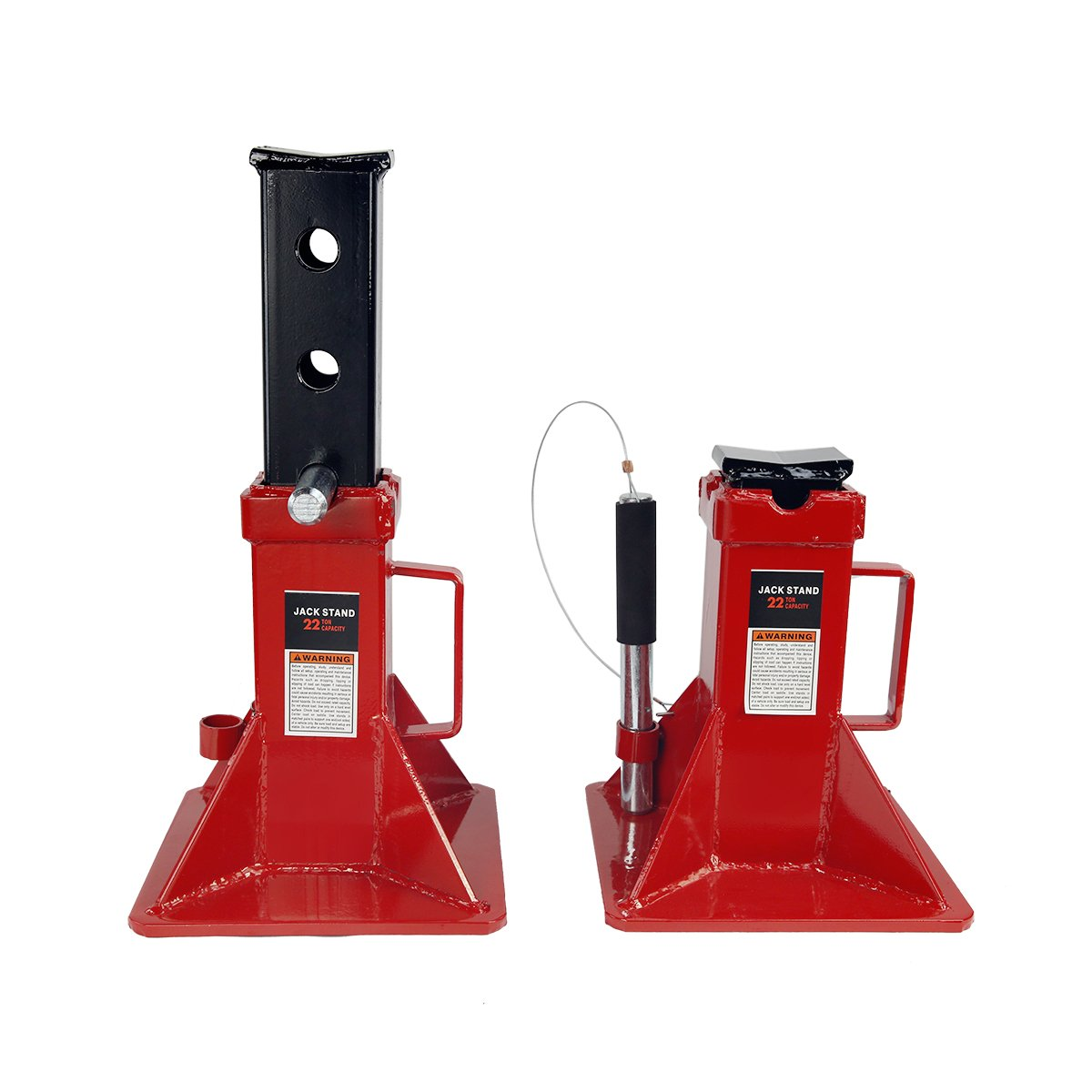 22 Ton Jack Stands Pin Style Set of 2