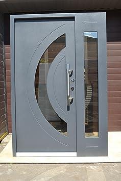 Nr, 7 Diseño de puerta, apartamento puerta de colour gris de 1400 x 2100 mm, en el interior de la derecha, puerta de seguridad puertas modernas puertas de entrada puertas de vivienda