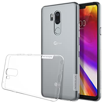 Nillkin LG G7 ThinQ Funda, Nature Silicona [Antideslizante] Bumper de Gel TPU LG G7 [Ultra Fina] Clear View - Transparente