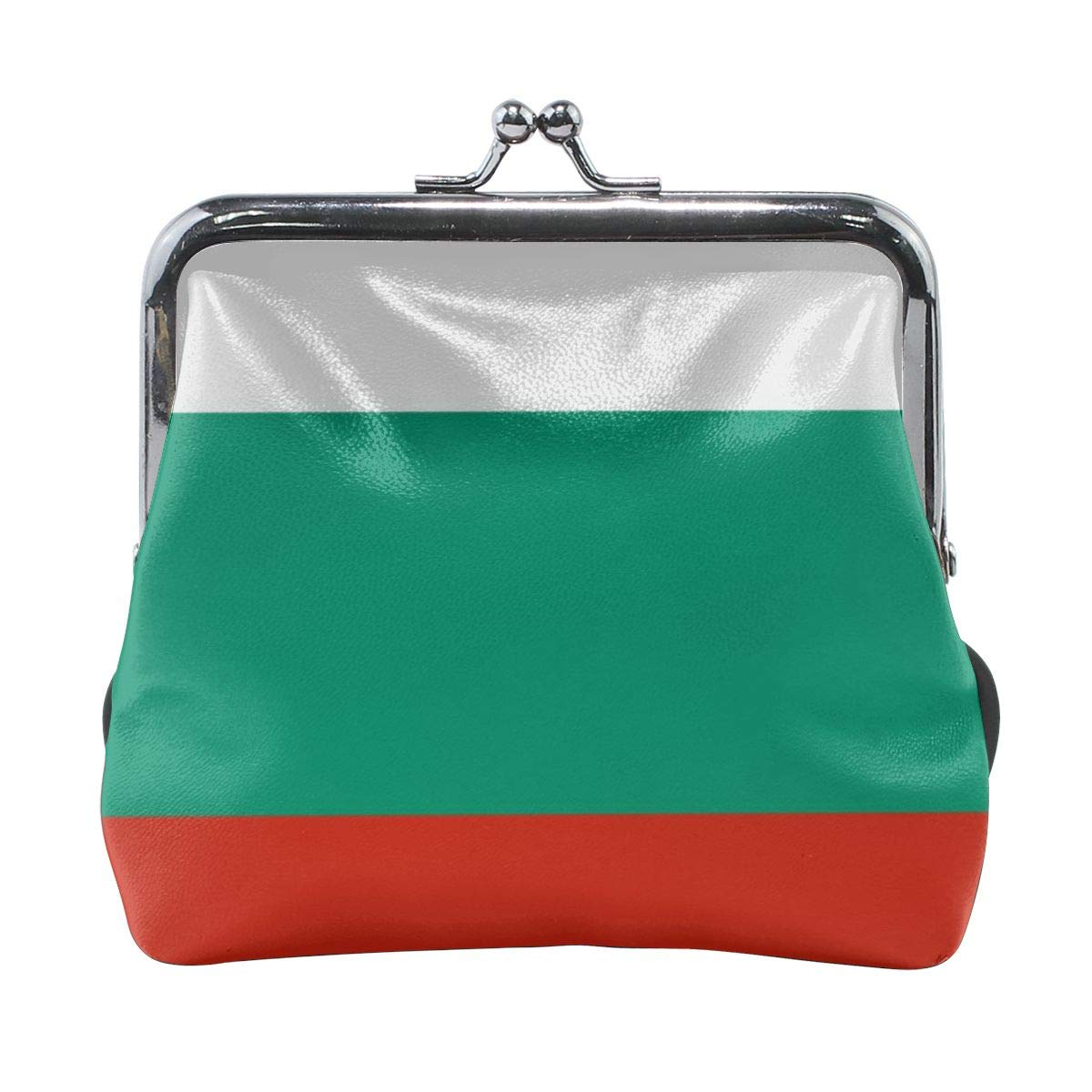 Bulgarian Flag Cute Buckle Coin Purses Buckle Buckle Change Purse Wallets