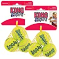 KONG Air Dog Squeakair Dog Toy Tennis Balls, Small (6 Pack)