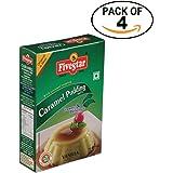 Five Star Caramel Pudding Vanilla 100g Box, Pack of 4