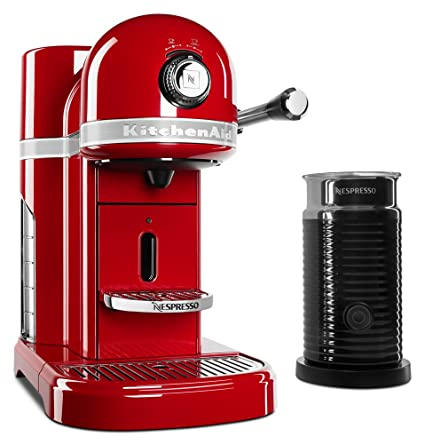 Amazon Com Kitchenaid Kes0504er Nespresso Bundle Empire Red