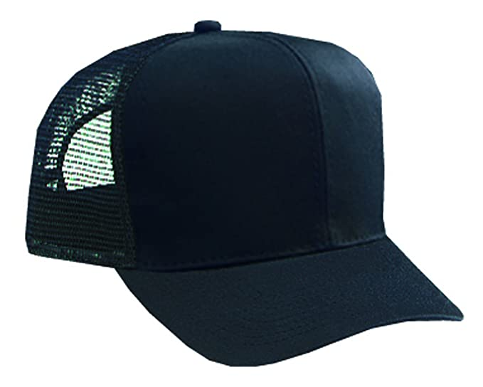 4da54eda52f Otto Caps Cotton Twill Pro Style Mesh Back Caps Trucker Caps at ...