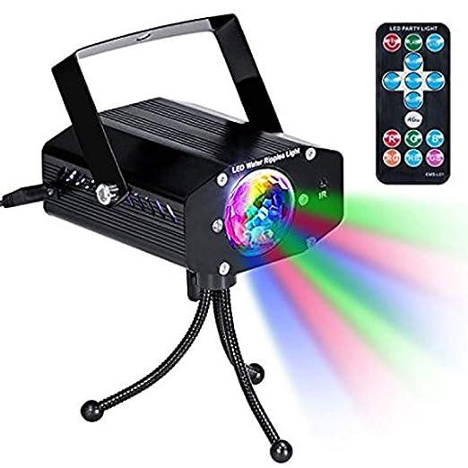 GENGJ-lampe Mini luz de Discoteca, luz de Escenario LED Que Cambia ...