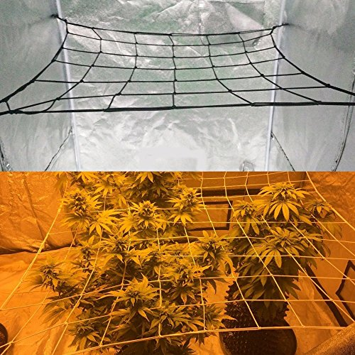 Homneer 2-Pack Grow Tent Net, Fits 4'x4' 8'x4' and more size by Homneer