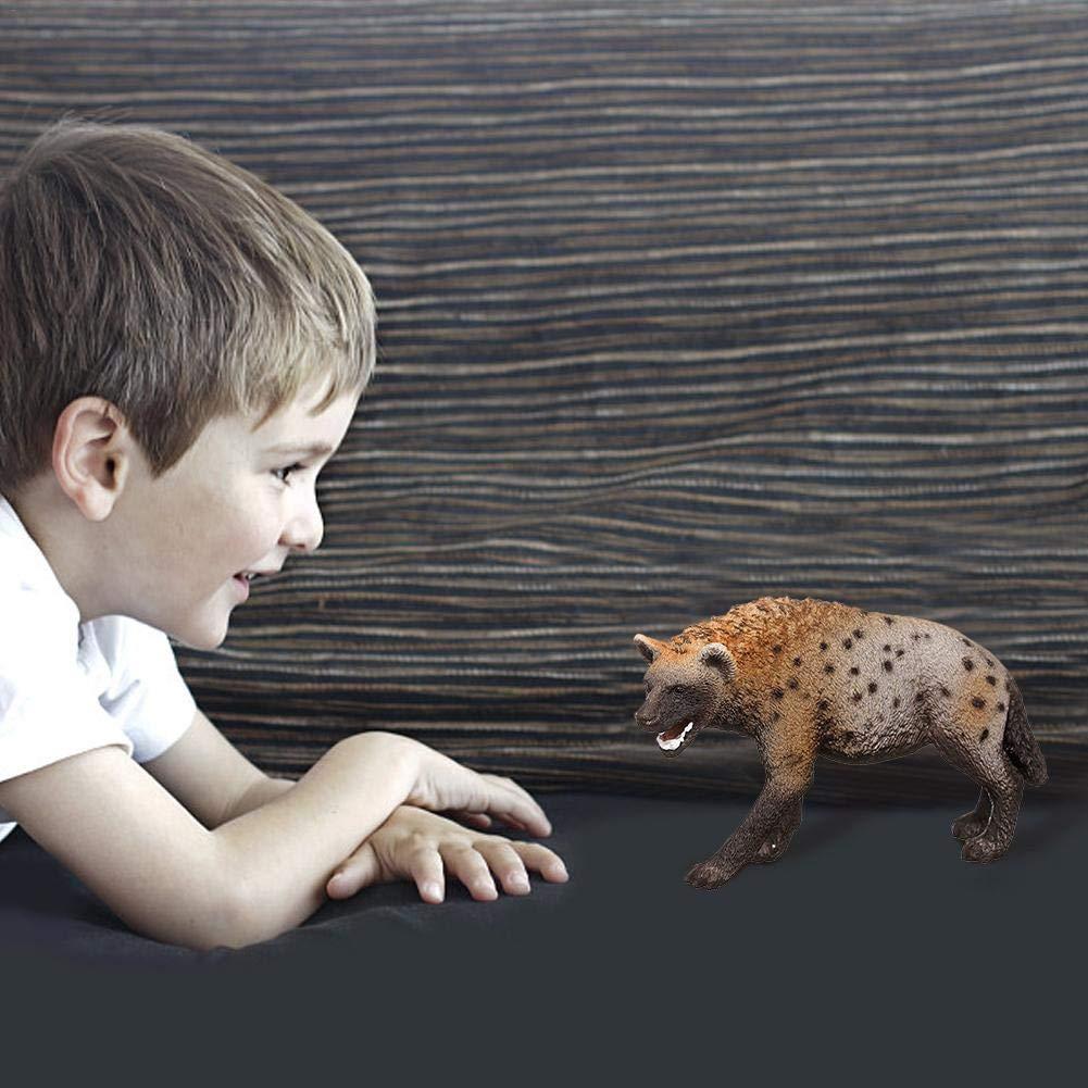 Figura di iena , Giocattolo di figurina per bambini in et/à prescolare per bambini da 3,4 pollici in PVC modello iena 14735