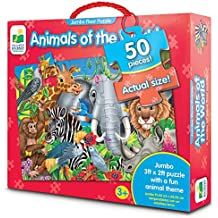 The Learning Journey Jumbo Floor Puzzles, Animals of the World