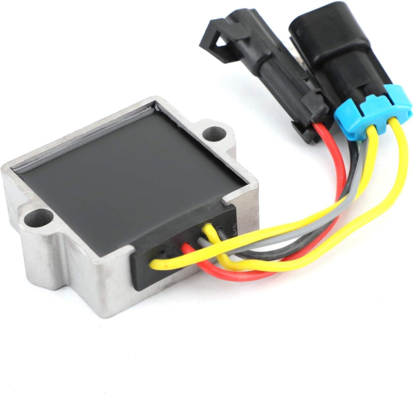 Bruce /& Shark Voltage Regulator for Mercury Mercruiser F25 F30 F40 F50 F60 854514T1 883071T1