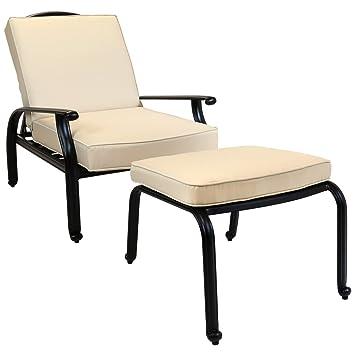 Charles Bentley fundición de aluminio de silla reclinable Con ...