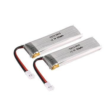HONZIRY 2 UNIDS 3.7 V 500 mAh Batería Li-po para Wltoys V966 V977 ...