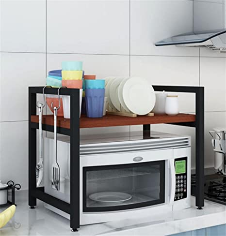 SQL Cocina Microondas Estante 2 capas Horno Utensilios de ...