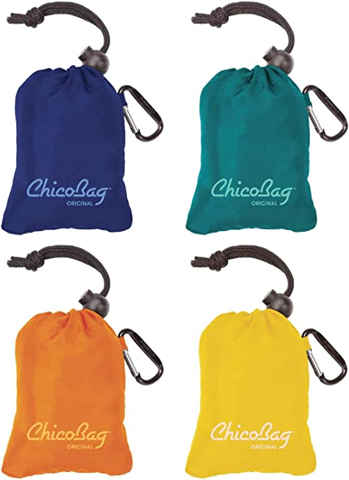 ChicoBag Vita Compactable Reusable Shopping Tote//Grocery Bag wi.. Free Shipping