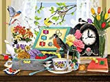 jigsaw puzzles sewing - Sewing Kit and Teacup 1000 Piece Jigsaw Puzzle by SunsOut