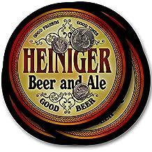 Heiniger Beer & Ale - 4 pack Drink Coasters