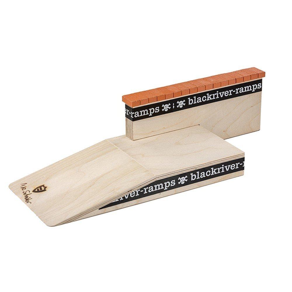 Blackriver Ramps Mike Schneider Fingerboard Loading Dock III W/ Brick Ledge